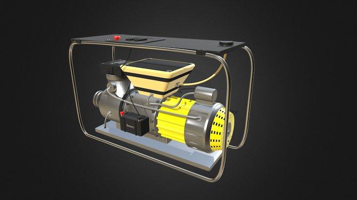 Electricity generator 3D Model