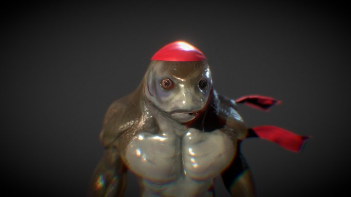 [WIP] Teenage Mutant Ninja Tuna 3D Model