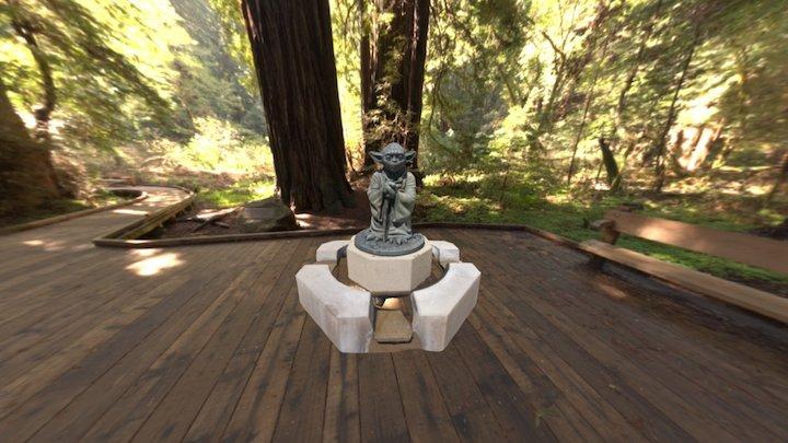Yoda Statue 3D Model