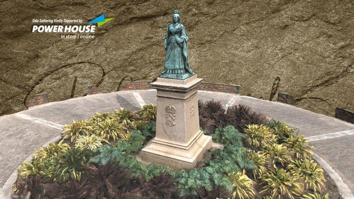 La Reine Victoria - Érigé Par les Peuple 3D Model