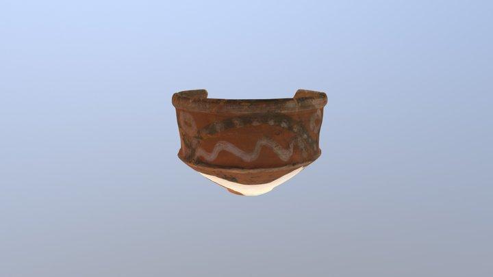 彩文土器 3D Model