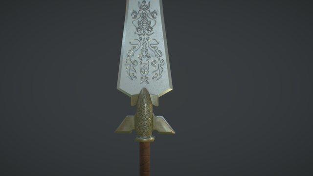 Broad Sword 3D Model