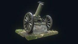 Cannon at Camp George West v1 test 3D Model