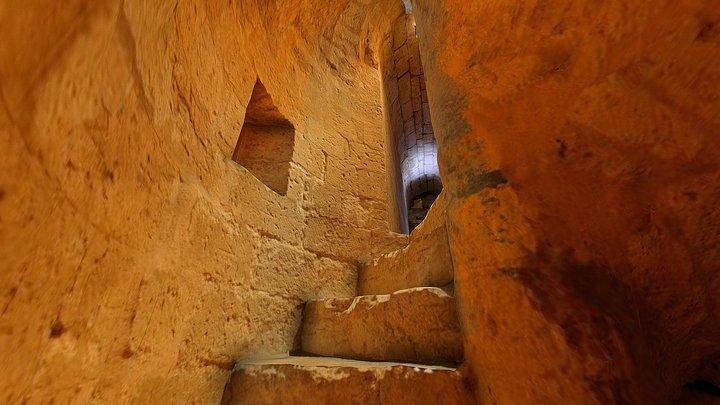 VR - Torre, s. XI-XII, Monasterio de San Zoilo 3D Model