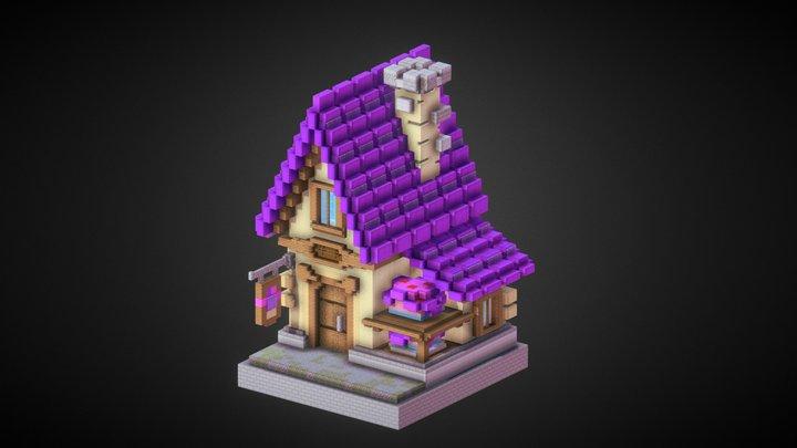 Small Bakery 3D Model