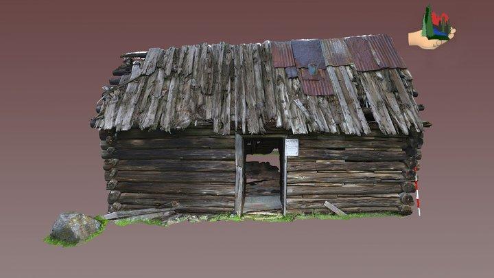 FS1277 05-0156 Broillar Park Cabin 3D Model