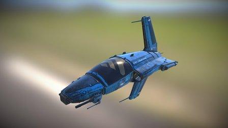 RI Rift Runner BLV (re-texture) 3D Model