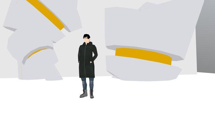 Kojima, The Genius 3D Model