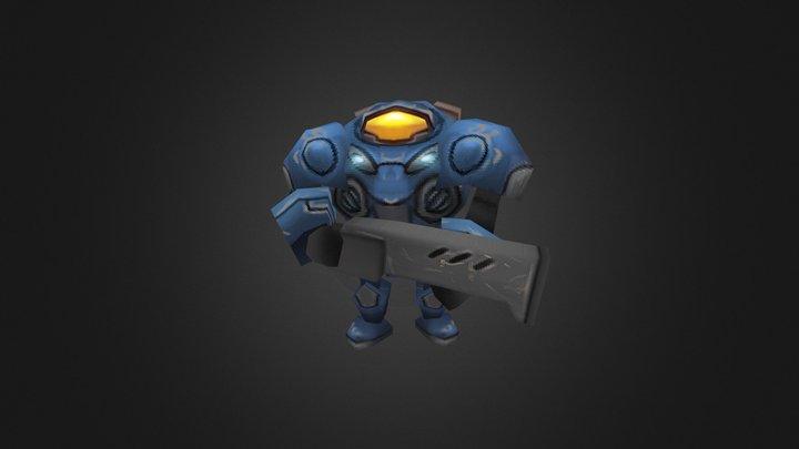 Marine.FBX 3D Model