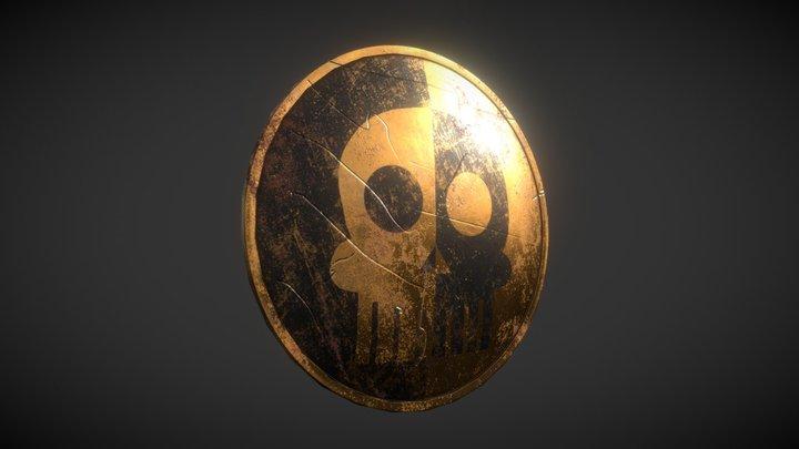Copper Shield (MediEvil) 3D Model