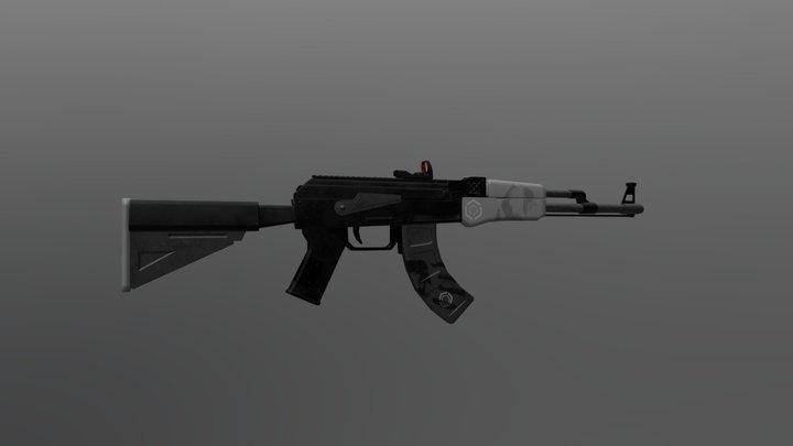 Tactical AK 3D Model