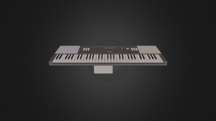 the keyboard the first 3D Model