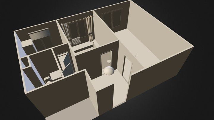 my_apartment.blend 3D Model