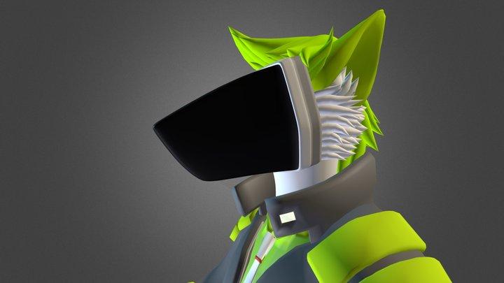 Robo Serg Protogen Progress 3D Model