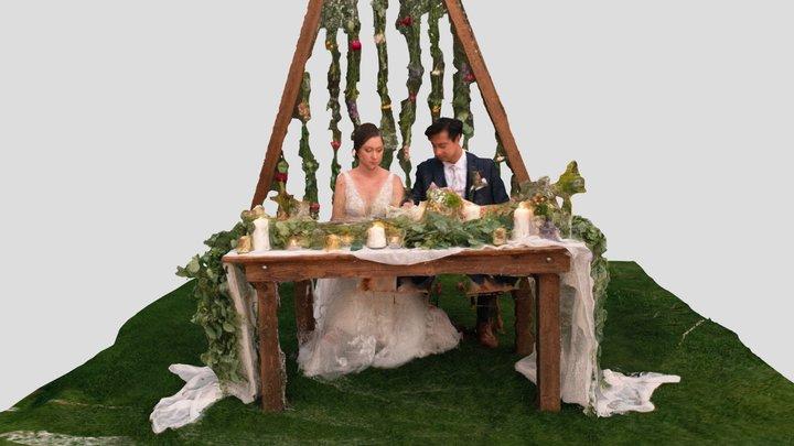 Newlyweds 3D Model
