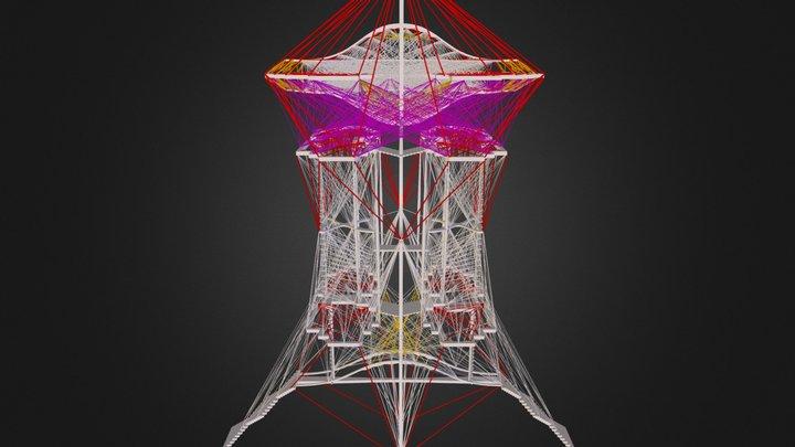 Column3 3D Model