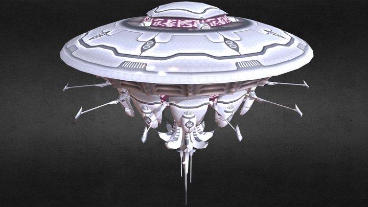 ship of the aliens? 3D Model