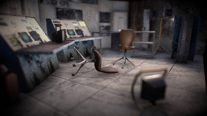 Control Room Asset Showcase Free download 3D Model