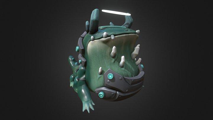 Kaiju : Toad 3D Model
