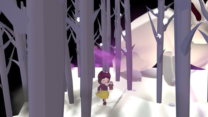 Lost in the wood 3D Model