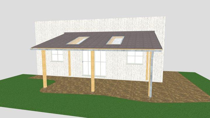 Terrassenüberdachung Waldhausen 3D Model
