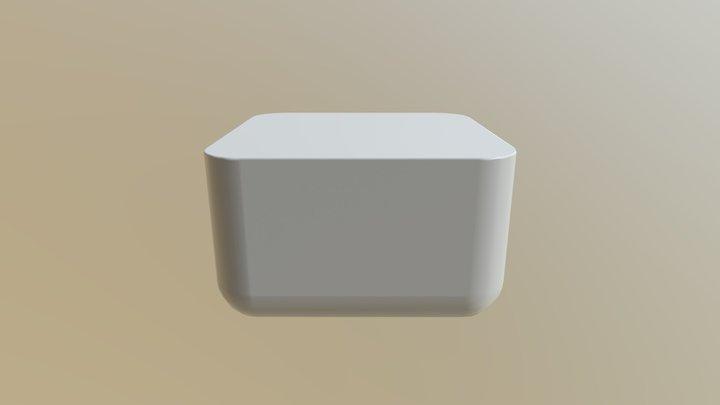 Salad 3D Model