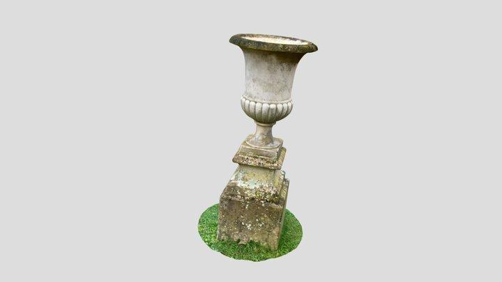 vase du jardin de Baguatelle 3D Model