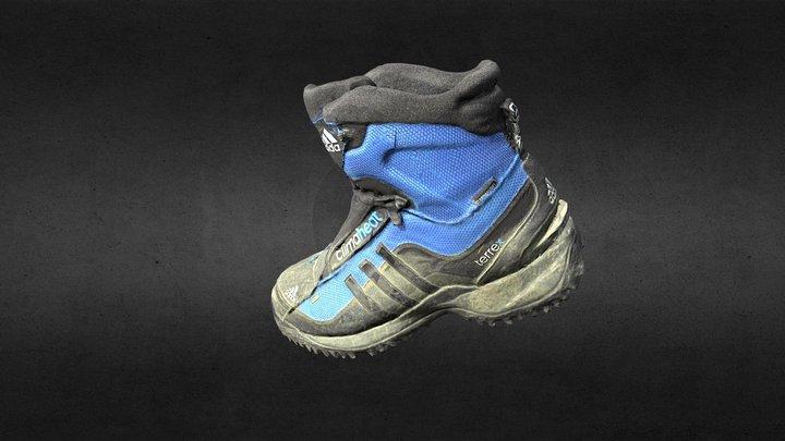 Winterboot Adidas 3D Model