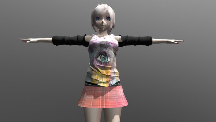 Stephanie - FBX Rigged Character 3D Model