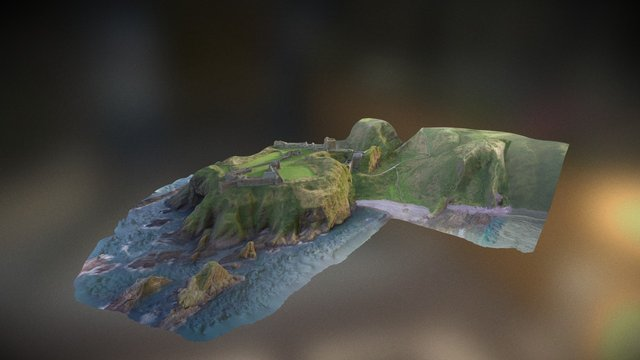 Dunnottar 3D 3D Model