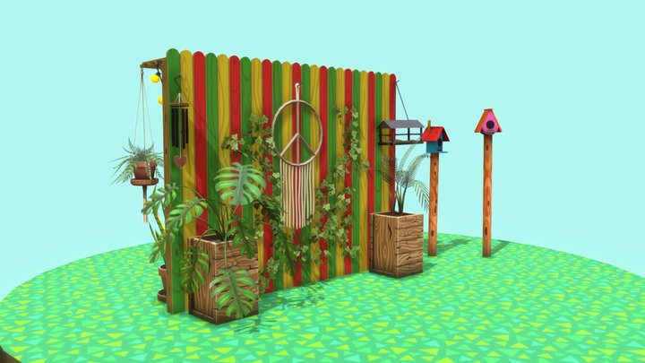 Chillout zone 3D Model