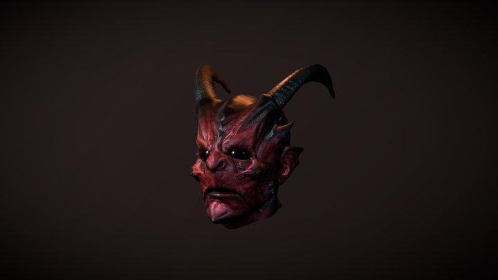 Demon Mask 3D Model