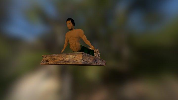 Komodo's Guardian 3D Model