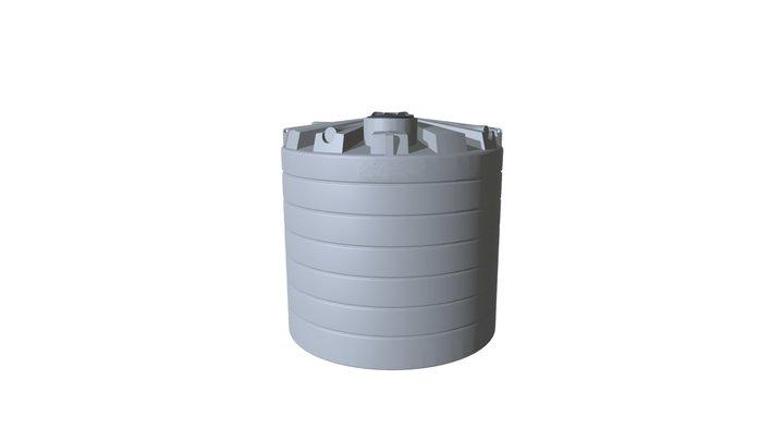 It10500 Tank Assembly 3D Model