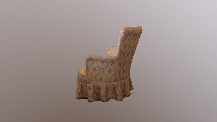 Grandmars Chair 3D Model