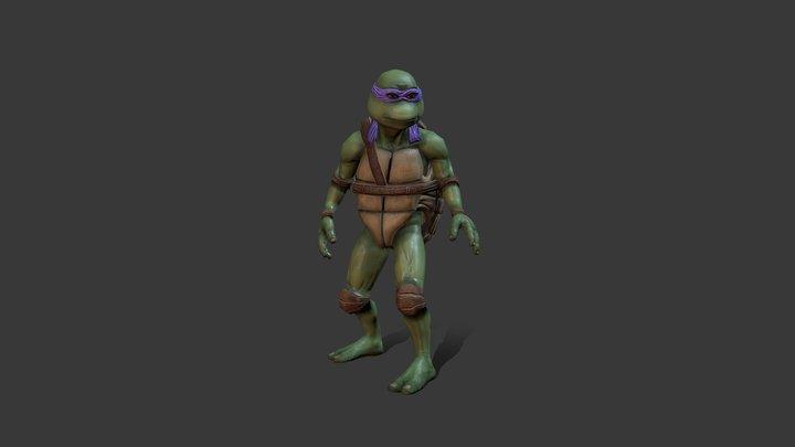 Donatello 3D Model