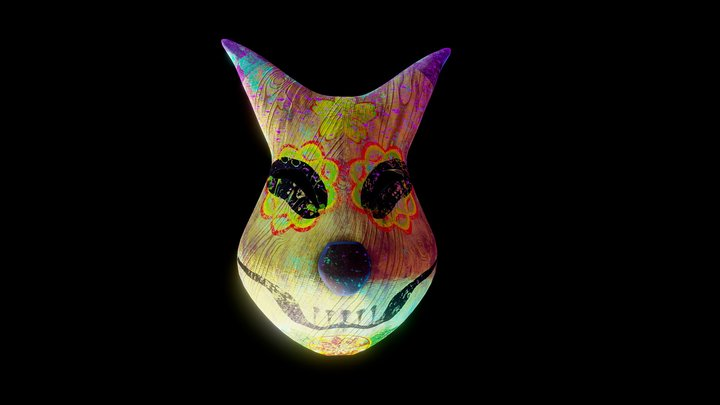 Keaton Majora's Mask catrina version 3D Model