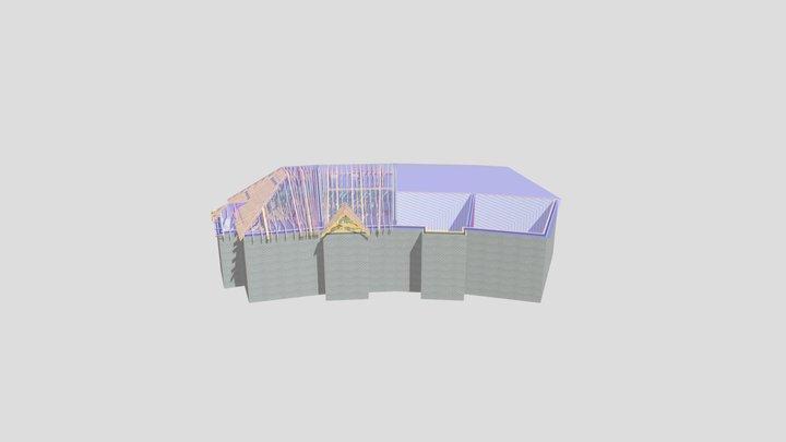 P12322D-Stamco Leigh Service-Unit 1-2(3-4)Attics 3D Model
