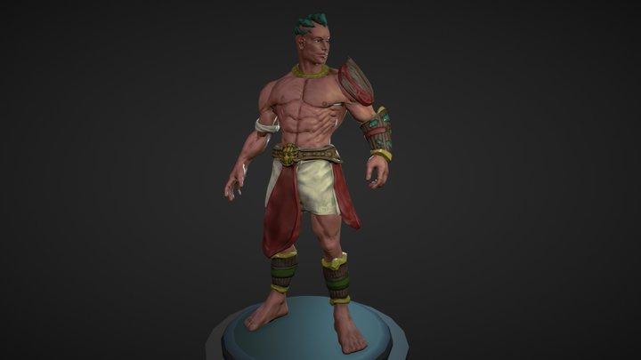 Shaman The Protector 3D Model