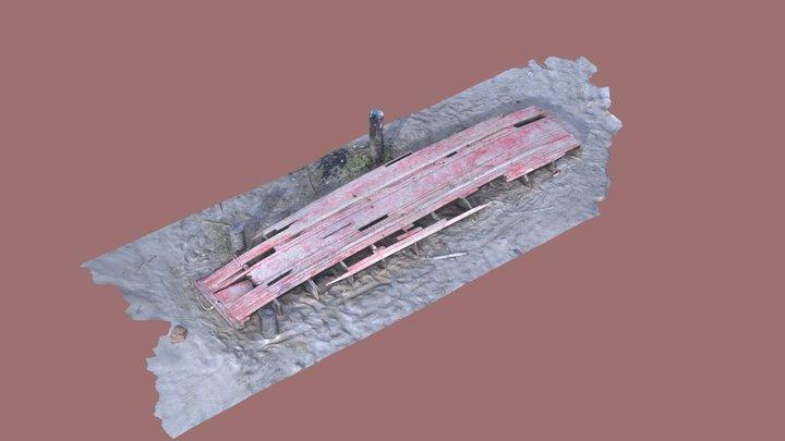 Red raft 3D Model