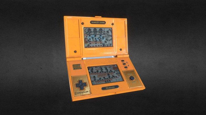 Donkey Kong Game & Watch Nintendo 3D Model