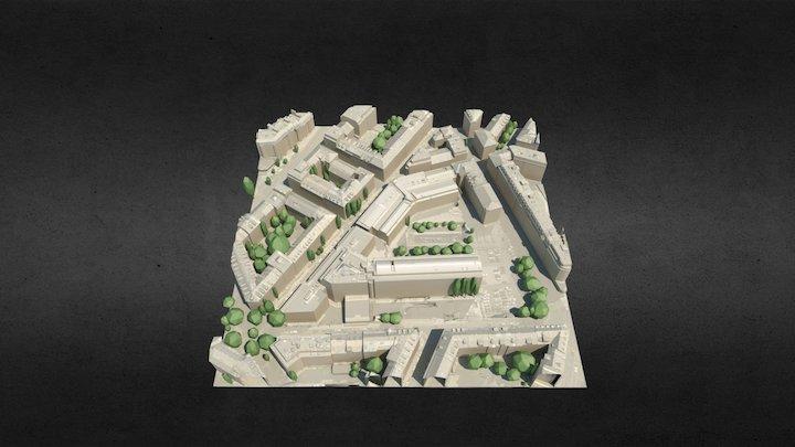Maquette-HEPIA 3D Model