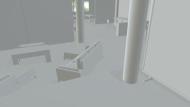 MTLCOLLAB - BEST USE OF IMAGINARY SPACES 3D Model