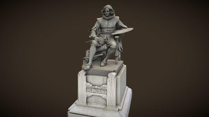 Monumento a Velázquez - Aniceto Marinas 3D Model