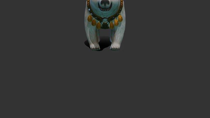 bear Evil 01 3D Model