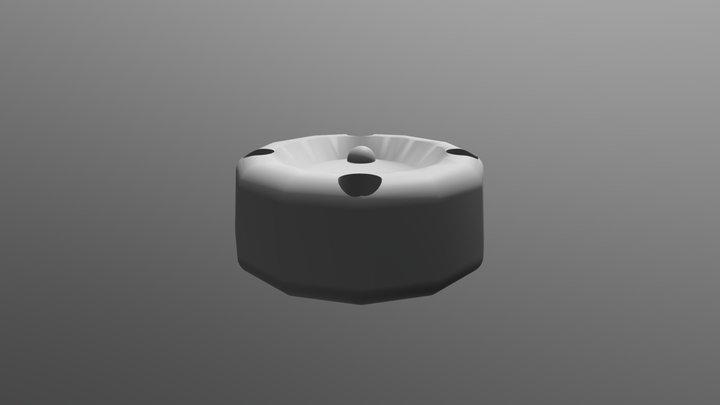 Handle Parts B 3D Model