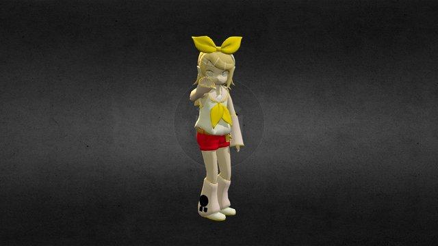 Wave Rin 3D Model