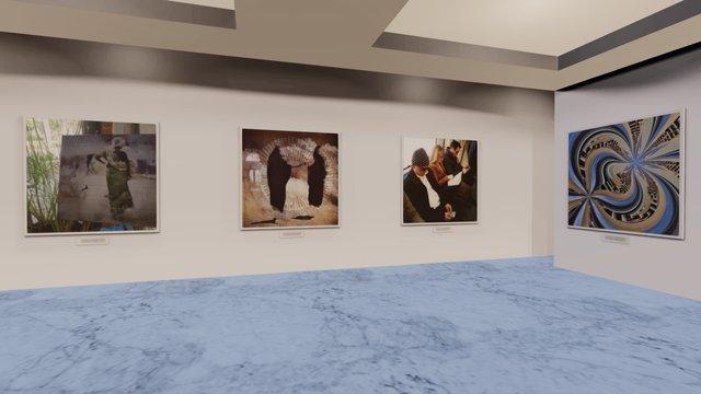 Instamuseum for @lindahollier 3D Model