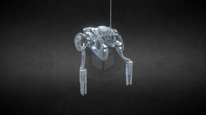 cog builder bot 3D Model