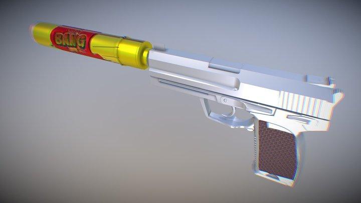 Bang! | Usp-s (Clean Version) 3D Model